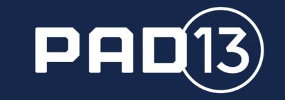 PAD logo RGB White